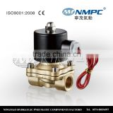 Hot sale Two-way brass mini air solenoid valve 2w025-08