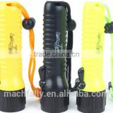 3W Rechargeable Powerful LED Diving Flashlight Diving Torch Flashlight