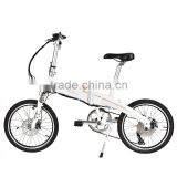 250W Folding Electric Bike , power- assistant bicycle , cruiser bicycle 20""