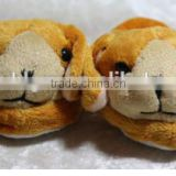 plush animals baby animal doll shoes for new born/animal shaped shoes