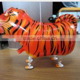 Hot sale tiger walking pet balloon,animal shape air walking pet balloon, Helium pet balloon for party/Child Gift