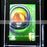 Backlit LED menu board Advertising frame