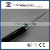 4/6/8/12/24 Core GYXTC8S Self Supporting Outdoor Fiber Optic Cable From Zhejiang Manufacturer