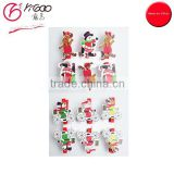 700066 mini santa hat hair clip christmas paper clips