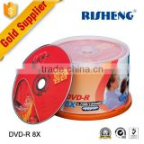 RISENG 8x 4.7GB 120MINs pc disk for dvd/chinese wedding out of print dvd/wholesale dvd r 16x blank media discs dvdr 4.7gb