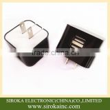 Factory wholesale US folding plug 5V 2A micro usb wall charger portable home wall charger for Samsung Table PC