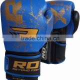 Leather Gel Boxing Gloves Fight, Punch Bag MMA Grappling Pad R AU