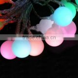 20 Leds Outdoor Solar Pannel 2V 80mAh Christmas Party Light Waterproof Garden Bulb String Light