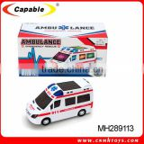 2016 BO bump and go ambulance car toy with music and 3D light