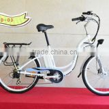 city communter electric rental business bike Low cost Renting ebike Northern Europe lady