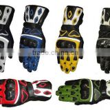 Leather Gloves Motor Bike Cycle Kevlar Leather