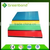 Greenbond flexible shape and pattern cardboard honeycomb panels