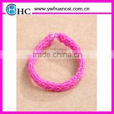 DIY weaving loom bands crazy loom bands wholesale for colorful DIY rubber loom bands fashion bracelet