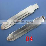 High Quality Dodge/Cherokee/Chrysler 300c Remote Key Blade 04#,International Standard Dimention, Copper material