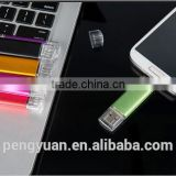 Bulk wholesale USB Flash Drive / Universal OTG USB Pen Drive for dual ports Micro USB