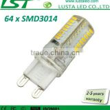 Small Size Mini G9 LED Light Bulbs 220V 230V 110V 120V 6000K 4000K 3000K 64 SMD 3014 LED Lamp G9