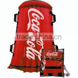 cocacola inflatable snow tube,hot sales snow ski tube with cover,water park snow tube,PVC inflatabale towable red ski tube