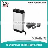 36v 12ah li-ion battery ebike battery packs alloy case with bms and charger Environmental wheelchair power tool battery