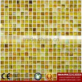 IMARK Cheap Gold Star Glass Mosaic Tile Mix Quartz Glass Mosaic Tile Kitchen Tile Bathroom Tile Wall Art Mosaic Tile Glass Tile