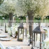China Supplier Wholesale Crystal Lantern Candelabra Wedding Table Centerpieces