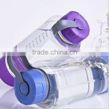 800ml Popular Design Plastic BPA Free Water Bottles Wholesale Space Cup with Finger Holder