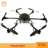Factory Price Foldable Drone Professional Royalplay RH700 Series RC Hexacopter for Aerial Photography