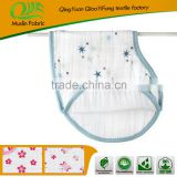 ONS5459 OEM muslin cotton baby Burp bib 3 layers baby bibs