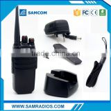 SAMCOM CP-400HP most powerful 10W radio vhf frequency machine with FCC Approval,big battery capacity 3600mAh