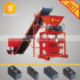 QTJ4-35 uganda hollow concrete brick making machines/concrete block making equipment for civil engineering