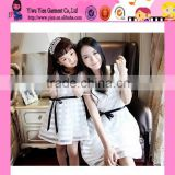 Latest Formal Mother Daughter Dress Patterns OEM Selling Cheaper Lace Short American Girls Without Dress Photos