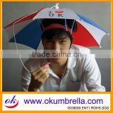 "13""x8k Fashion Logo Printing Hat Umbrella for Promotion from Chinese Manufacturer"