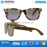 2015 new design MOQ only 100pcs /model with high quanlity custom handmade wooden sunglasses