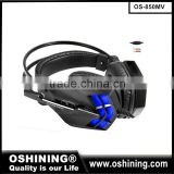 Free Sample Computer Headphones Super Bass Fashion PC vibration gaming headsets