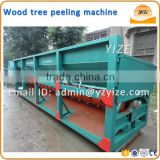 Wood log bark stripping machine of mobile wood debarking log peeling machine