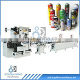 Automatic spray tin can body welder/coating/drying machine/machinery for medicine aerosol cans