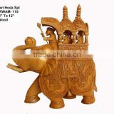 carving-elephant/wooden indian statues/antique wooden statue