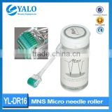 YL-DR16 Factory Direct Sale Micro Needles Derma Roller,Skin Care Microneedle Roller Therapy
