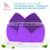 Laser rust removal beauty care facial brush electric facial cleansing brush face whitening facial kit