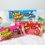 2014 New Halal Sour Straw Belts Candy