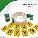 A Set Of Cattle Cow Neck Tag Neck Bands 1.2M