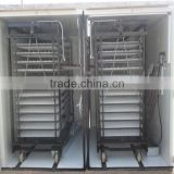 Best price automatic incubators fertile hatching eggs/chicken incubation machine8448 eggs)