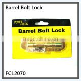 "3"" barrel bolt latch for door"
