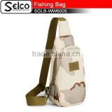 900D blank canvas shoulder bag fishing tackle lure bag