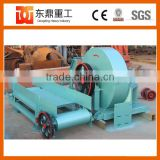 Low noise disc wood chipper with high quality