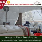 Luxury decoration PVC geodesic dome tent for outdoor party