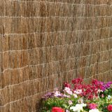 Brushwood Heather Fencing for garden decoration