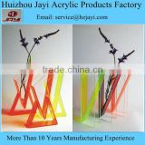 China manufacturer wholesale acrylic different colored glass vase