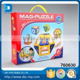 Hot Sale Magnetic Puzzle Building Blocks Toys in Barrel For Kids Geometry Building Blocks Brain Concentration Excise