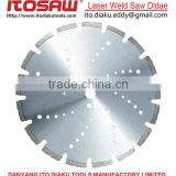 Laser Weld diamond saw blade, diamond silver brazed saw blade marble cutting blade, granite saw blade.concrete saw blade