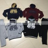 sports suits man training wear fleece sportswear sets men's tracksuit